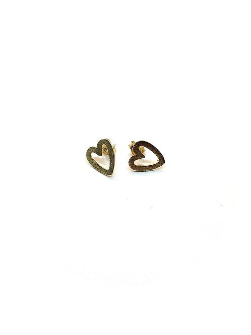 Ohrringe *Herzerl* vergoldet