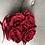 Thumbnail: Flowerbox Samt Klein Infinity Rose rot
