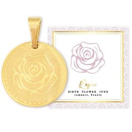 Birthflower Kette JUNI gold