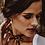 Thumbnail: Perlenohrringe FRITZI rosevergoldet M