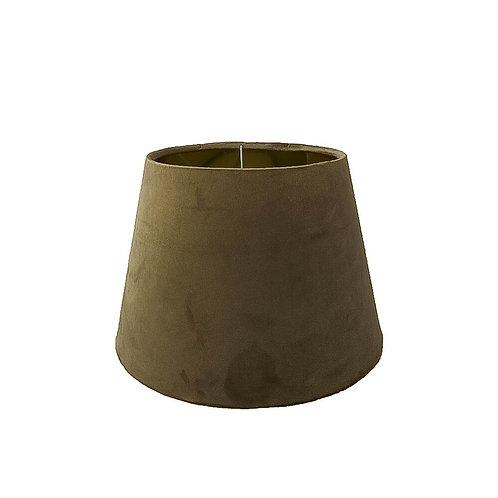 Lampenschirm Samt gold 25 cm