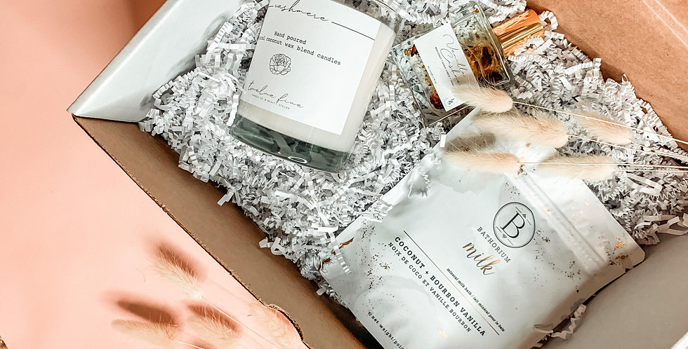 Mothers day gift box Cashmere Edition
