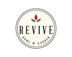 revive home and garden logo
