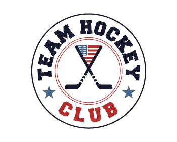 team hockey badge logo