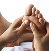 Reflexology massage for him