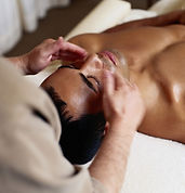 Deep cleansing men's spa facial