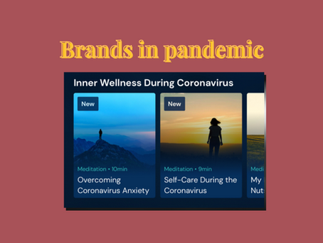 What Can Brands Do During The Pandemic?