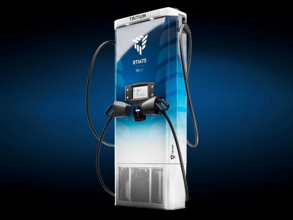 Revel's Superhubs utilize the newly launched modular Tritium RTM75 fast chargers.