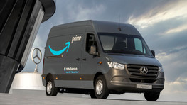 Amazon hands Mercedes-Benz its biggest electric vehicle order to date