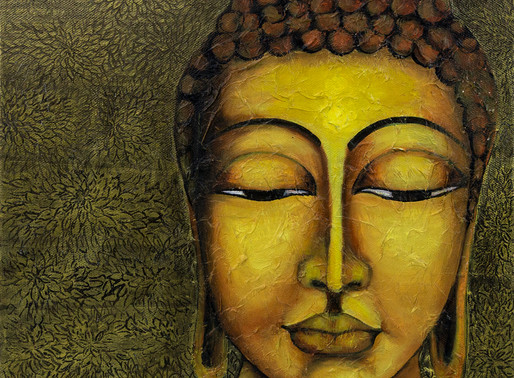 Sold my Awakened Series of Buddha through open studio, Thanks to buyers for giving them a new home