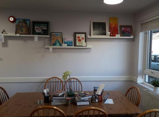 Northwood Coffe Shop- Art at display