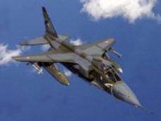 Jaguar fighter plane