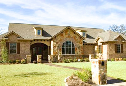 Texas Hill Country Exterior Kolby Homes.