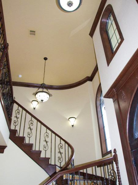 Texas Hill Country stair Kolby Homes-9.j
