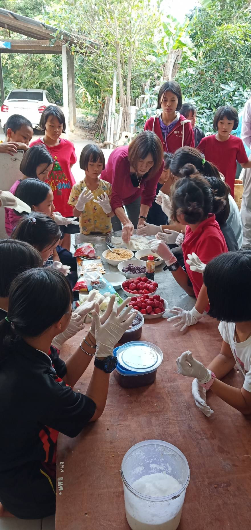 Making Mochi on Children's Day