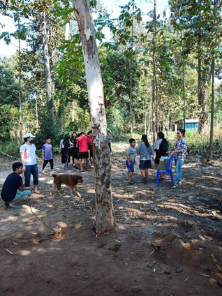 Some activities with our Taiwanese volunteers friends