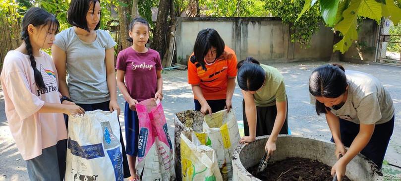 Making Organic Fertilizer