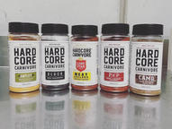 Hardcore Rubs selection MSG & Gluten free