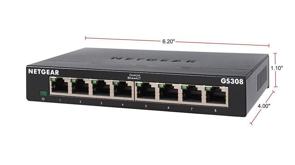 Netgear 8-Port Business Essentials Gigabit Ethernet Unmanaged Switch