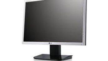 "Used LG Silver L192WS Flatron 19"" Widescreen 1440X900 16:10 LCD Monitor"