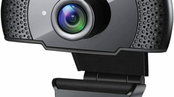 GESMA 1080p 30fps FULL HD USB Computer Webcam