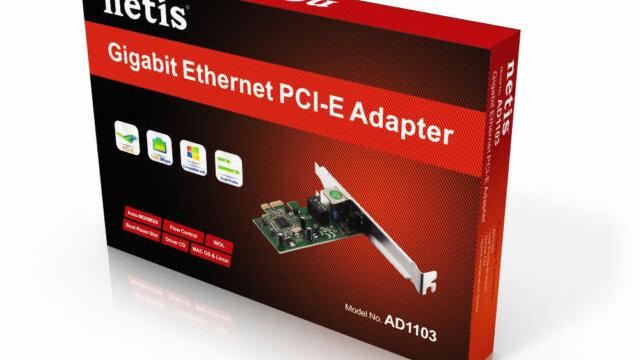 Netis AD1103 Gigabit Ethernet Pci-express Adapter