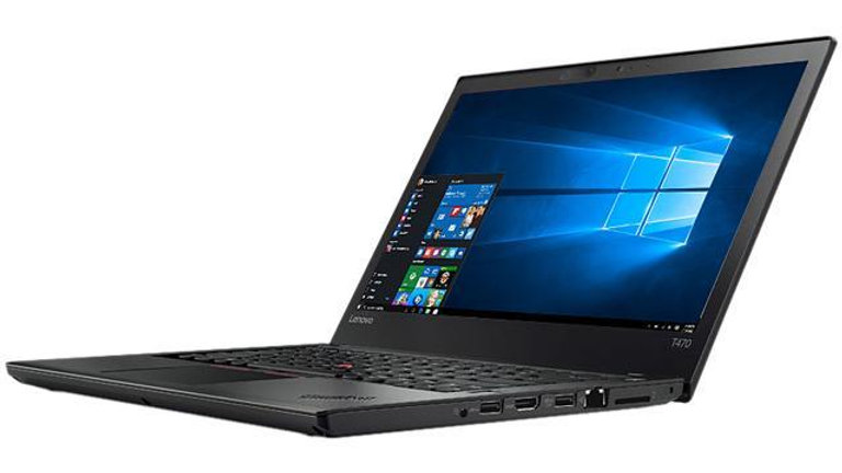 "Lenovo Thinkpad T470 14"" Intel Core i5-6300U 2.4GHz 8GB RAM 256GB SSD Laptop"