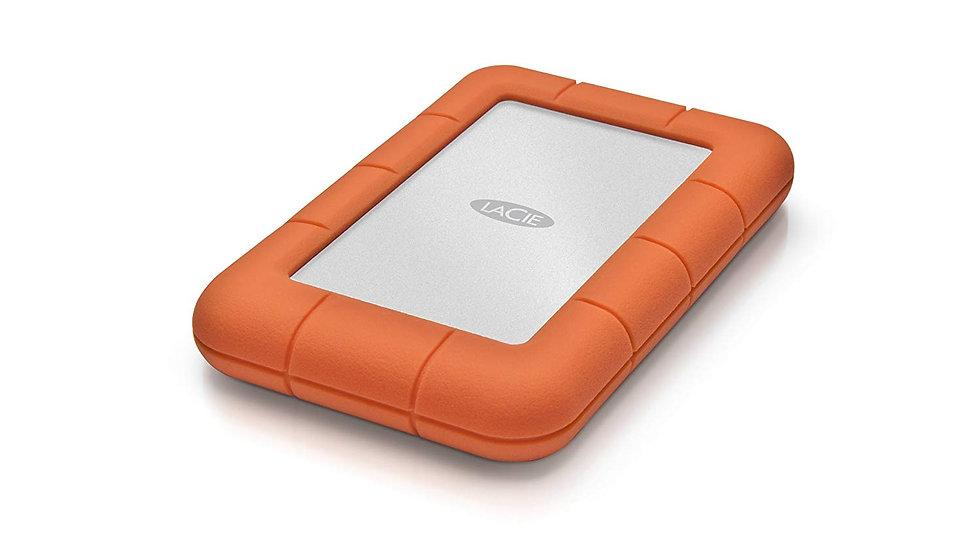 LaCie Rugged Mini 1TB External Hard Drive Portable HDD – USB 3.0 USB 2.0