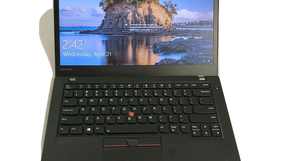 "Lenovo T470s i5 6300U 2.4 GHz- 12GB RAM - 256GB SSD - 14"" Screen Windows 10 Pro"