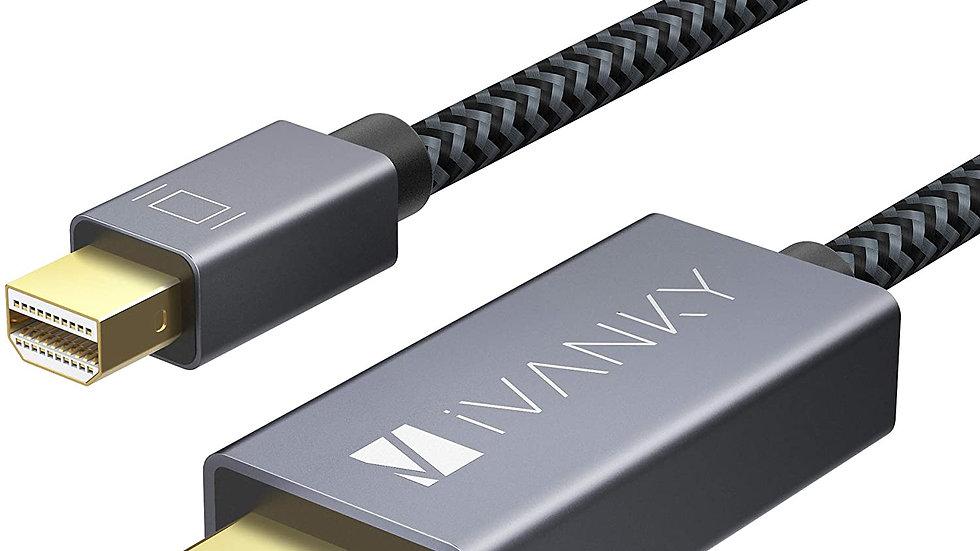 Mini DisplayPort to HDMI Cable iVanky 6.6ft Nylon Braided