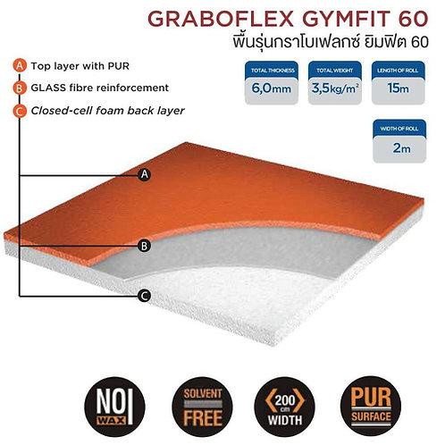 พื้นกีฬาGrabo Sport (Gymfit 60)