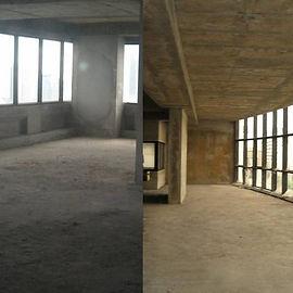 Bare-shell office space for rent near BTS Saladang MRT Samyan