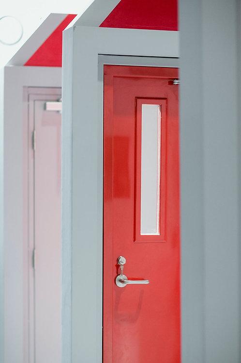 ประตูเหล็ก SCL Steel Door