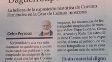 DAGUERROTIPOS EN GRADO Artículo publicado por Celso Peyroux en La Nueva España