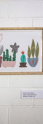 A Succulent Cut by Anne Scott