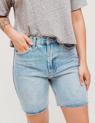 The Denim Long Shorts