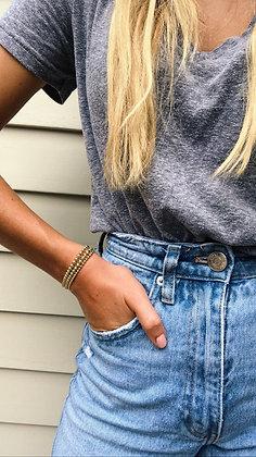 The Gold Beaded Bracelet