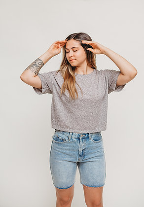 The Nat Cropped Tee