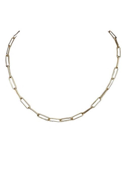 Eden Paperclip Chain Necklace