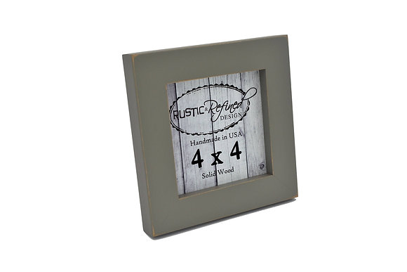 "4x4 1"" Gallery Picture Frame - Grey Green"