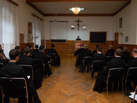 Tanévzáró a Papnevelő Intézetben