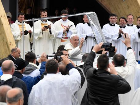 Köszönjük, Ferenc pápa!