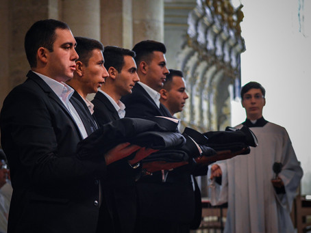 Krisztust öltik magukra – admissio és beöltözés Gyulafehérváron