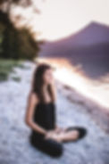 Padmasana - Lotussitz