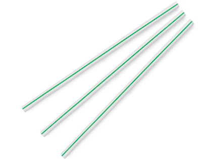 Jumbo 7mm ecovio straw, 8.25in 500pc