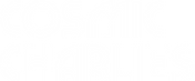 cosmic white logo
