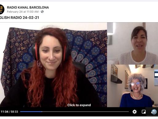 New Radio Talk Podcast: Therapists Talking: Mindfulness in COVID Times. Radio Kanal Barcelona.