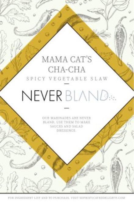 Mama Cat's Cha-Cha Spicy Vegetable Marinade