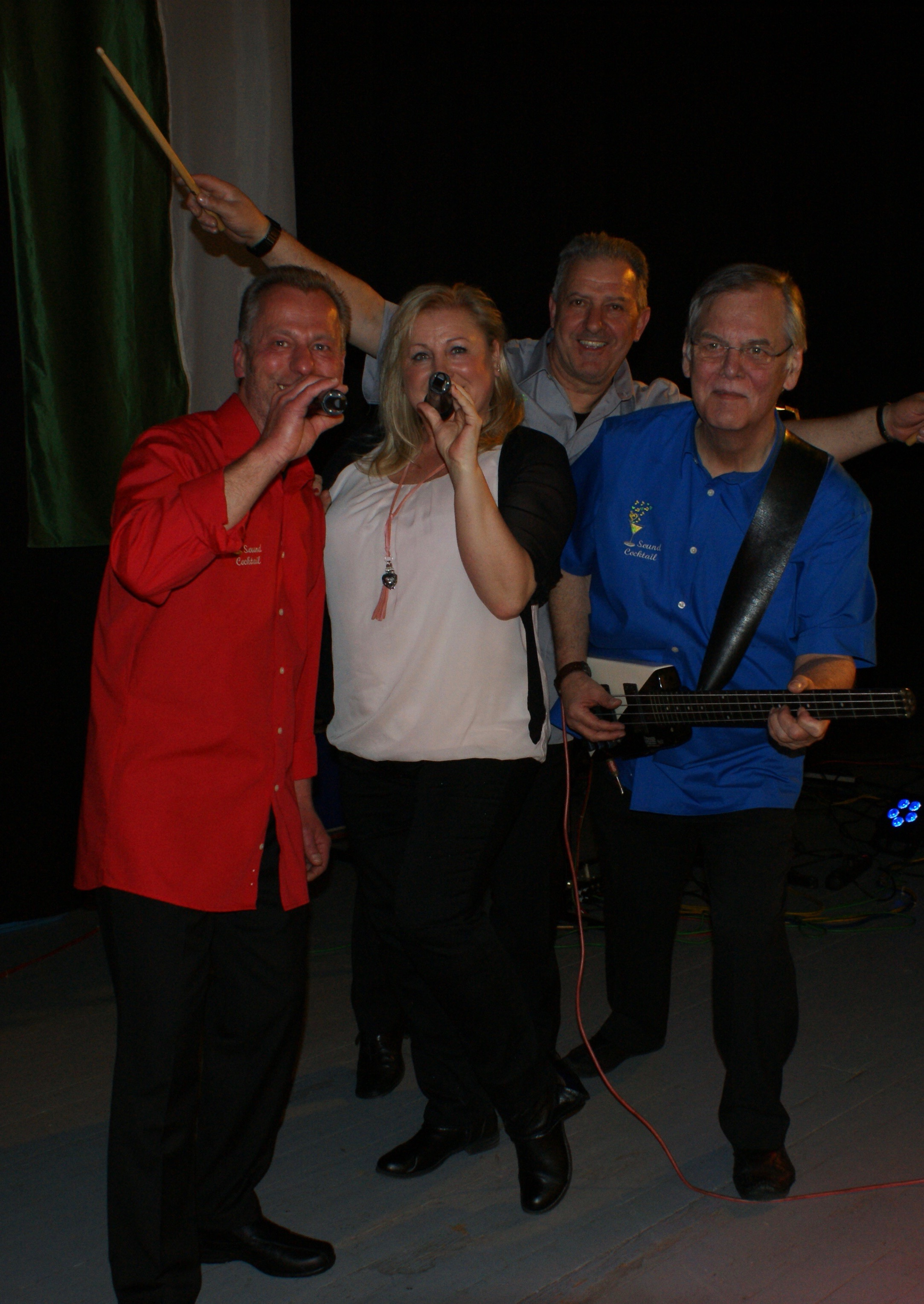 Holger, Claudia, Peter, Guiseppe 2017