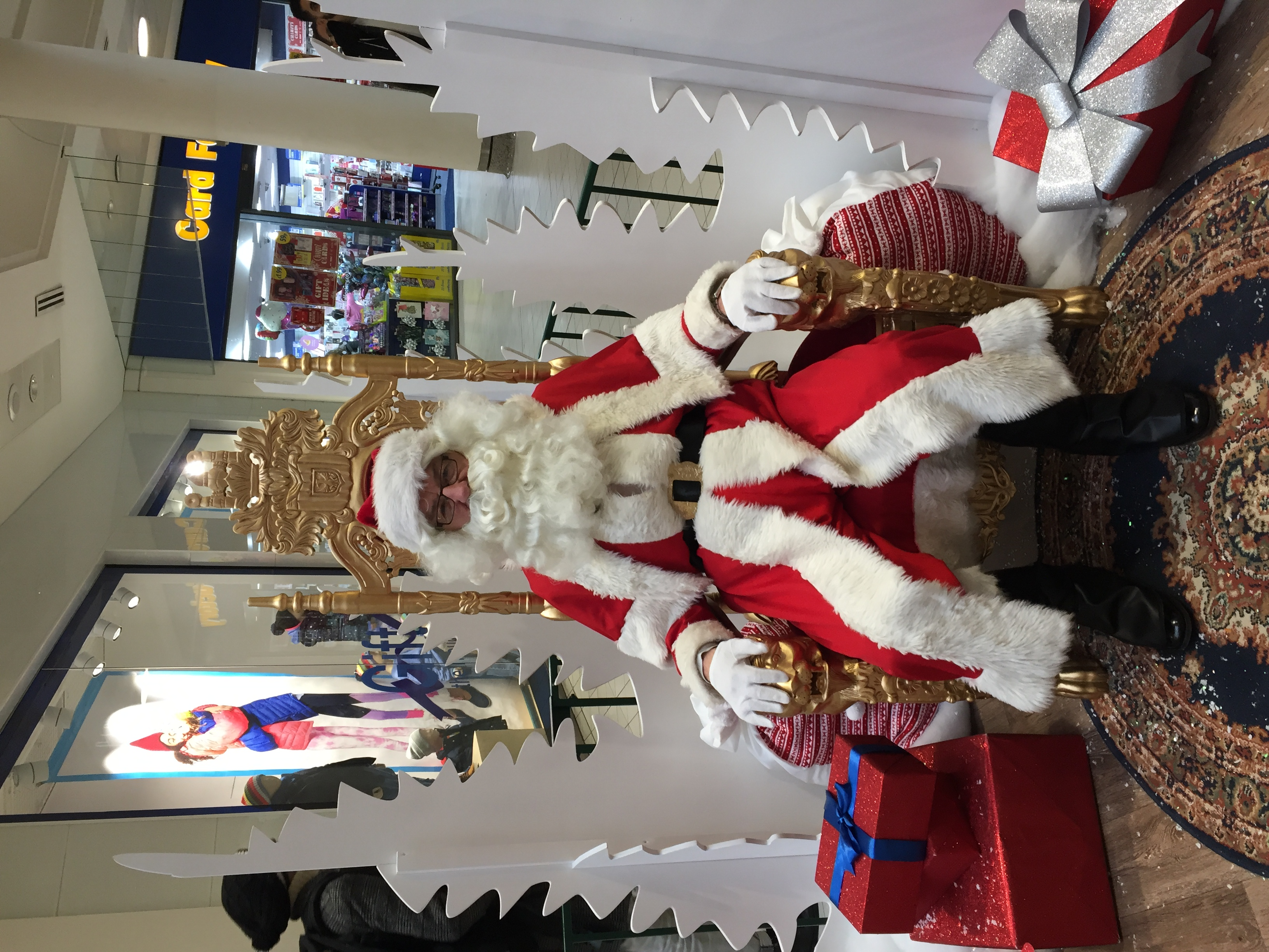 Father Christmas - Wimbledon Centre Cour